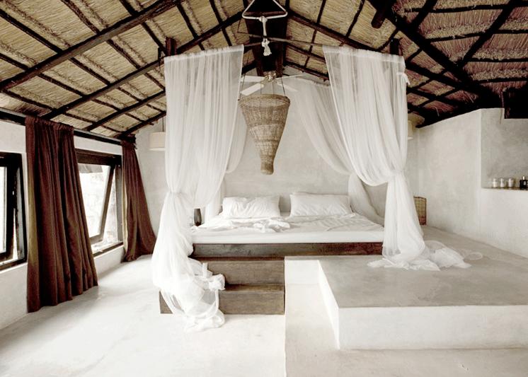 MrMrsSmith CoquiCoquiTulum RivieraMaya Mexico bedroom