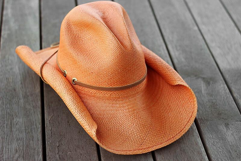 Est Magazine Juliet Horsley Hat orange
