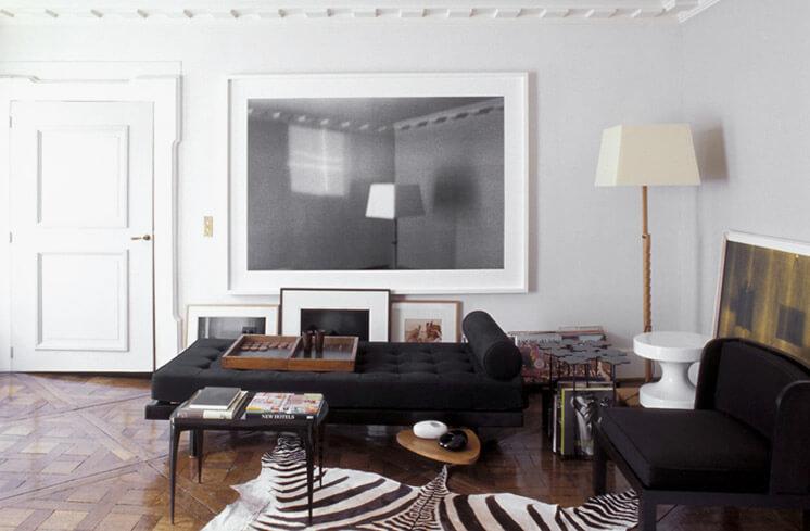 Est Magazine India Mahdavi PAris Apartment