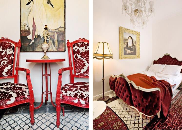 Est Magazine PHOTO Lönngren Widell Hotel Du Tresor Room