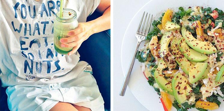 Jam Jar Juice and Fresh Salad Louise Bell Table Tonic Est Magazine