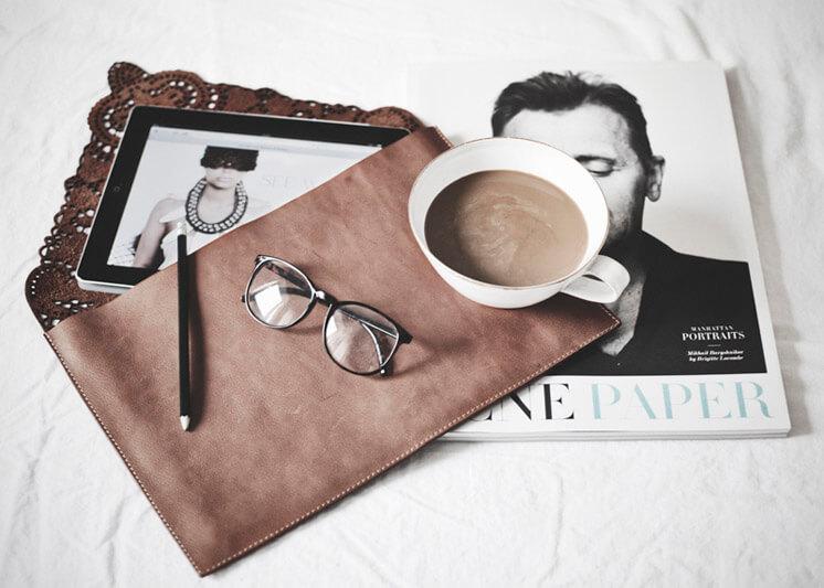 PHOTO Hannah Lemholt Love Warriors Leather Laptop Bag Lace Est Magazine