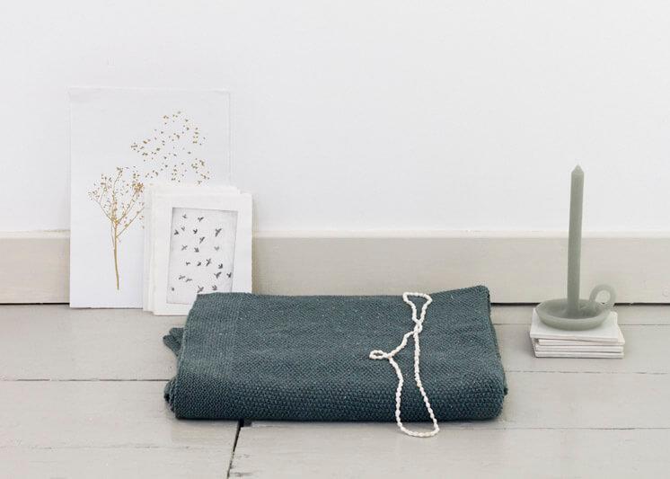 By Mölle Recycled Denim Blanket Ocean Green Est Magazine.jpeg