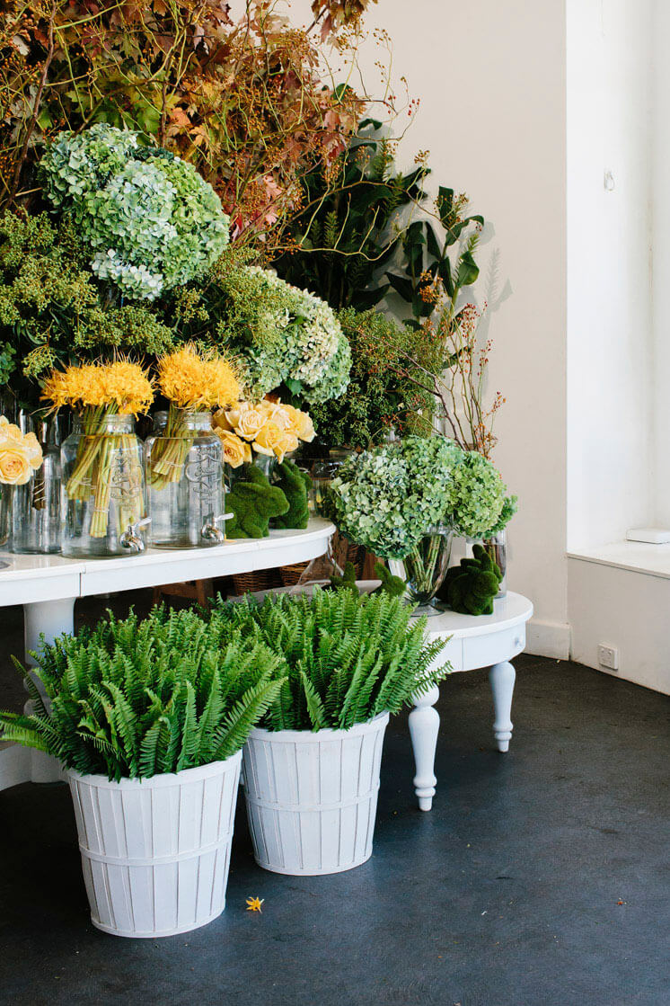 Fleur McHarg Floristry and Event Styling Autumn and Ferns Est Magazine