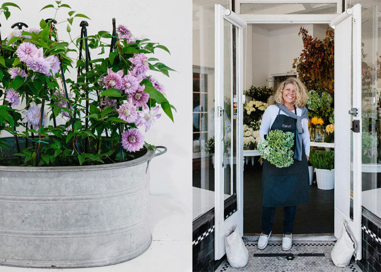 Fleur McHarg Portrait Shop Front Floristry and Event Styling Est Magazine