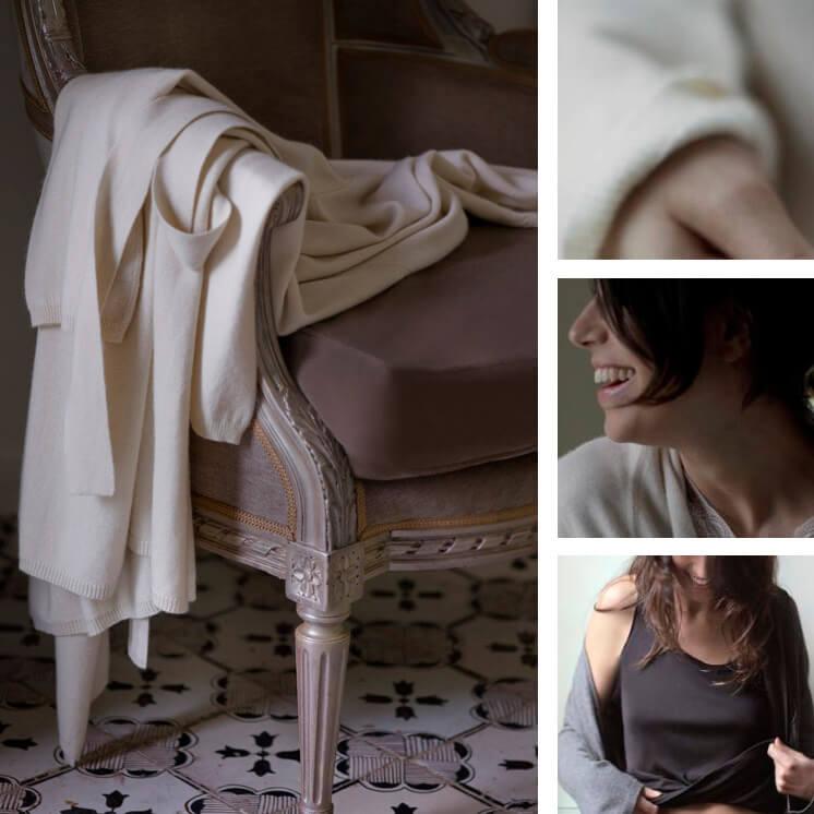 Robe Silk Cashmere Love and Lustre Est Magazine