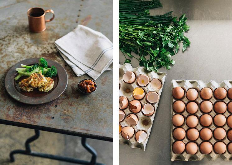 Egg Fritters Photographer Brooke Holm Est Magazine