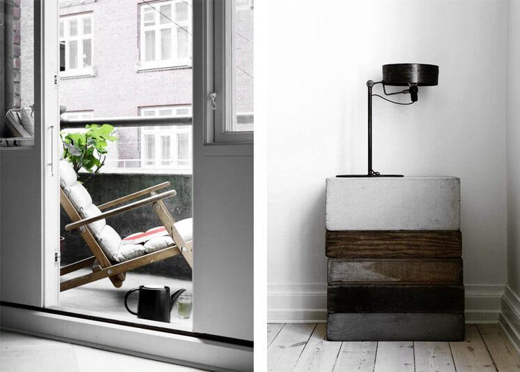 Salvaged Timber Yvonne Kone Home © Line Klein for Elle Decoration Est Magazine