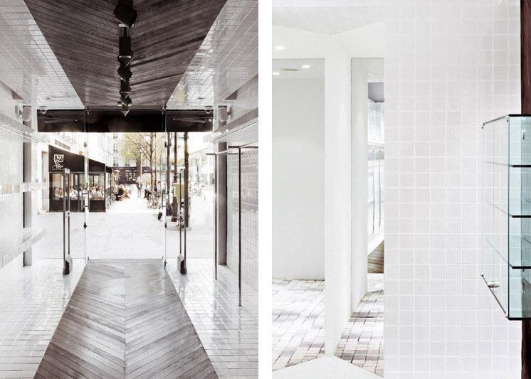 Maison Martin Margiela Place du Marché Saint Honoré Paris boutique Interior