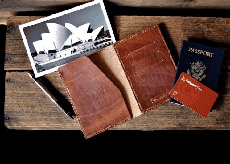 Bas and Lokes Voyager passport wallet Est Magazine