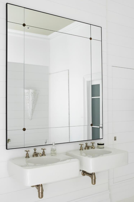 Justine Hugh Jones Design Bathroom Mirror Est Magazine