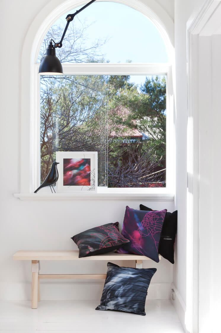 One Another Design OAlife Pink Bench Portrait Est Magazine
