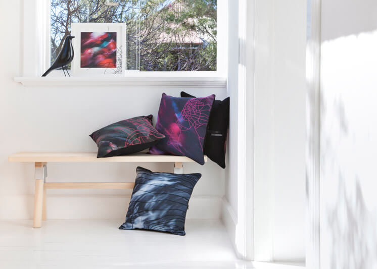One Another Design OAlife Pink Bench Window Est Magazine