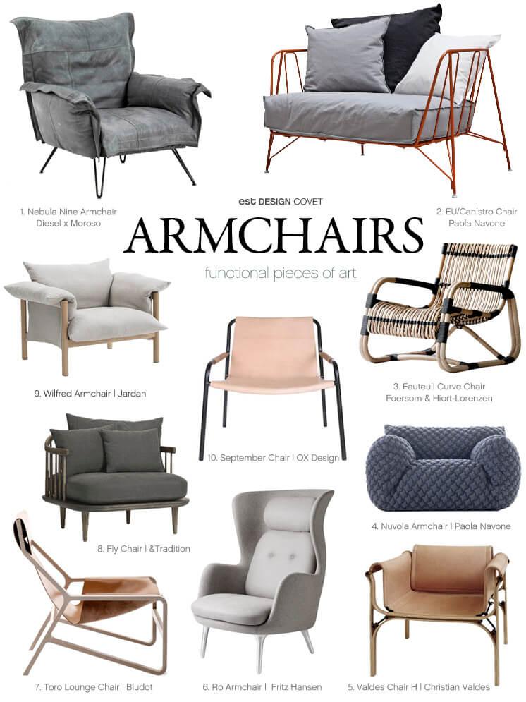 Design Covet Sophie Carr Armchairs Est Magazine