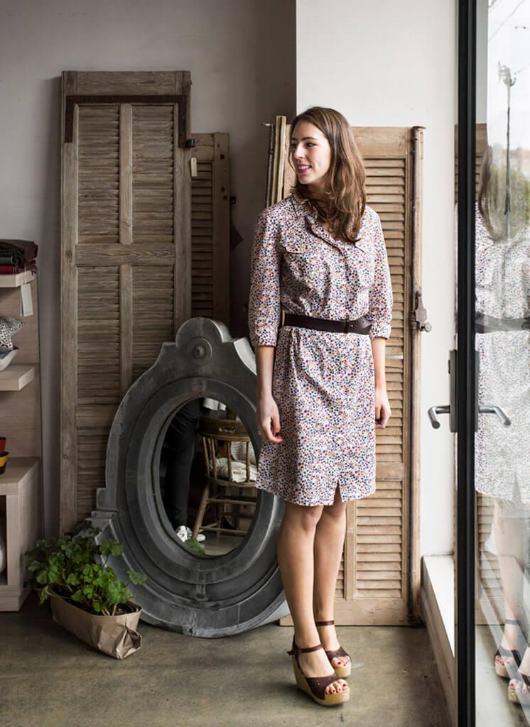 Manon Bis Shop Girl 30 © Sarah Wood Est Magazine