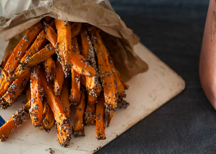 Dine | Guilt Free Sweet Potato Fries