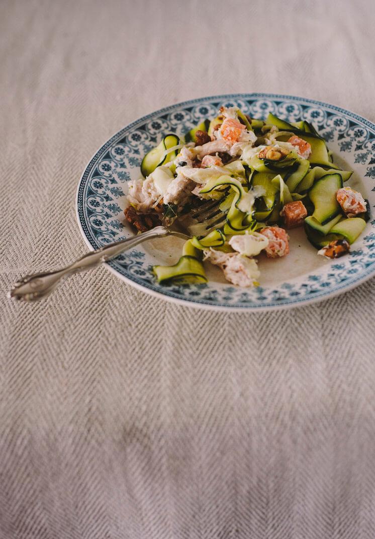 Mr Darcy Maxwell Zucchini Pappardelle Eaten © Tori Simson Est Magazine