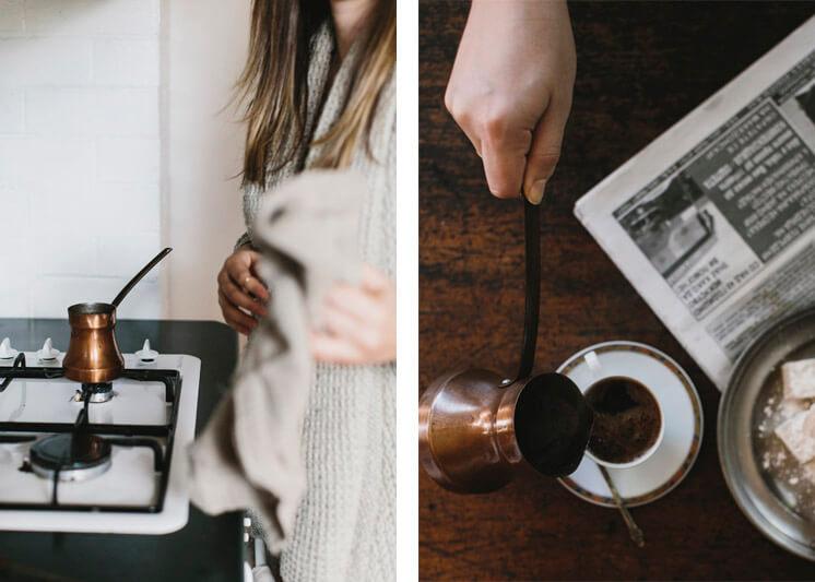 Stephanie Stamatis Turkish Coffee © Tara Pearce 22 Est Magazine