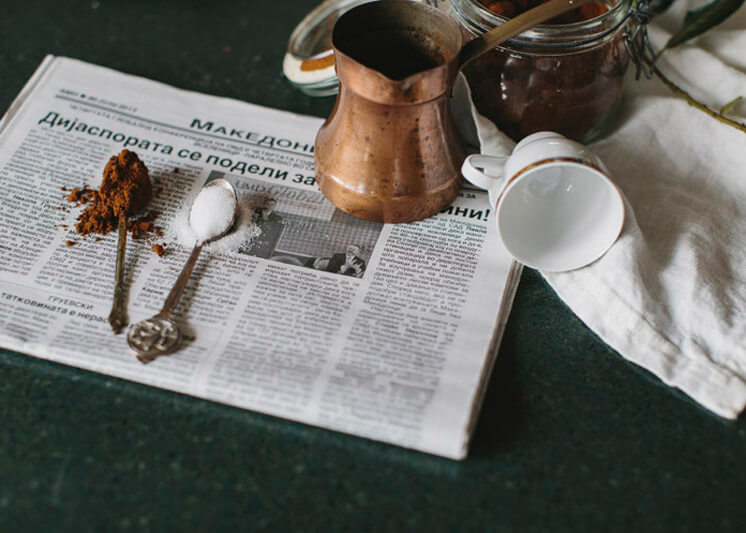 Stephanie Stamatis Turkish Coffee © Tara Pearce 28 Est Magazine
