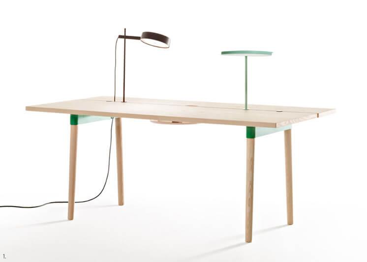 Design Covet Timber Offset Table Max Design Est Magazine