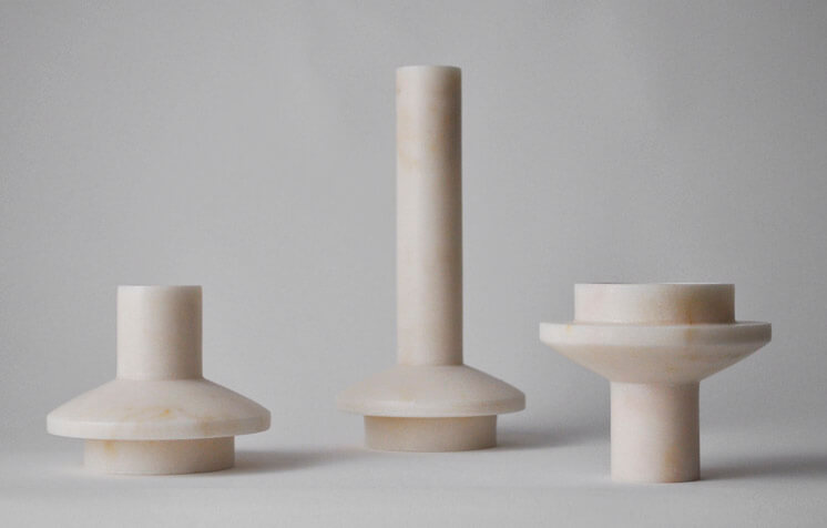 Michael Verheyden lighthouse low and high candle sticks Est Magazine