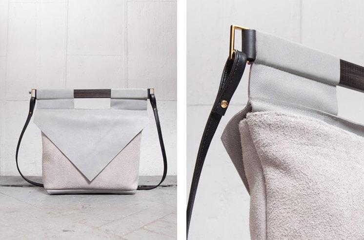 Chiyome LT Grey Slim Bag Est Magazine
