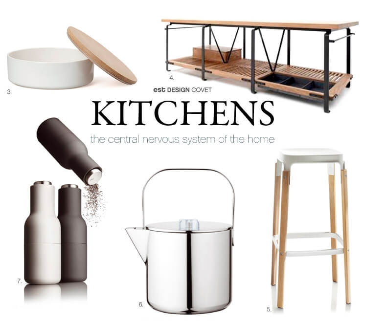 Design Covet Kitchens BY Sophie Carr Est Magazine