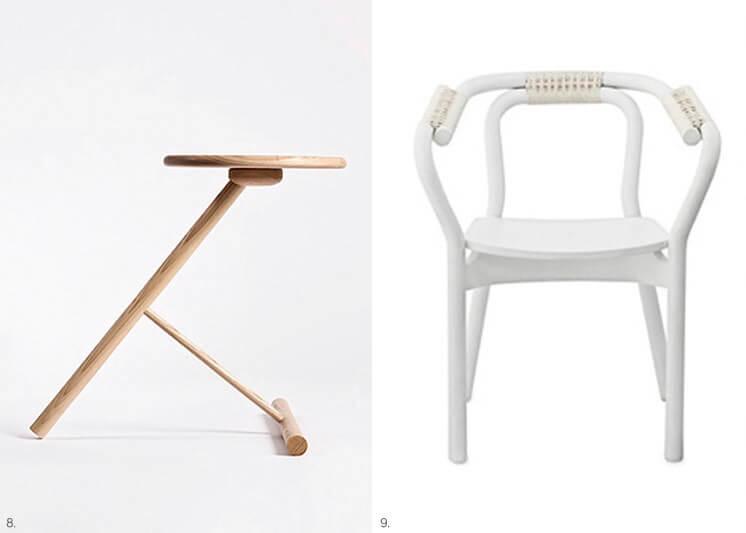 Design Covet W3 Side Table by Nicolai Gulliksen Knot Chair by Normann Copenhagen Est Magazine