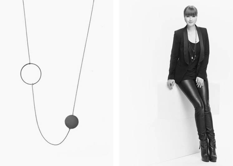 Marie Von Lotzbeck Orbit Necklace Est Magazine