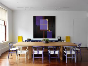 Dining | Tribeca Loft Apartment Dining Room by Nexus Designs