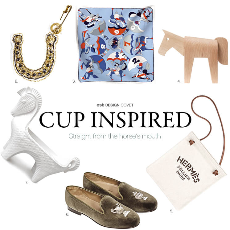 Design Covet Melbourne Cup Inspired Est Magazine