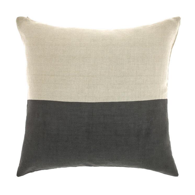 Dipped Cushion Charcoal Aura Est Magazine