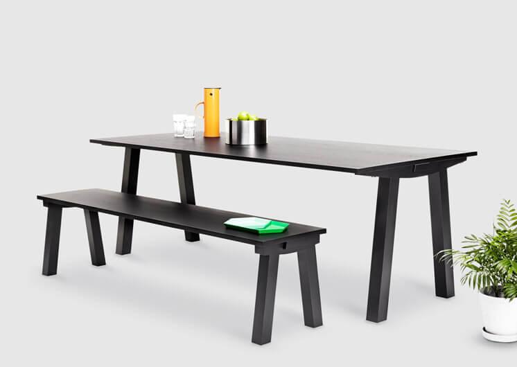 Dove Table Bench Nomi © Tessa Ross Phelan Est Magazine