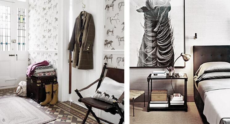 Hallway © Trevor Richards Bedroom © Douglas Friedman and Martyn Thompson