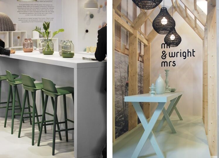 Muuto Mr Mrs Wright Maison et Object Paris 2013 © Brad Turner Est Magazine 746x540