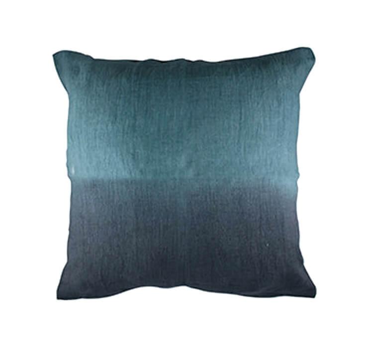 Ombre Linen Pillow in Seagreen Canvas Home Store Est Magazine