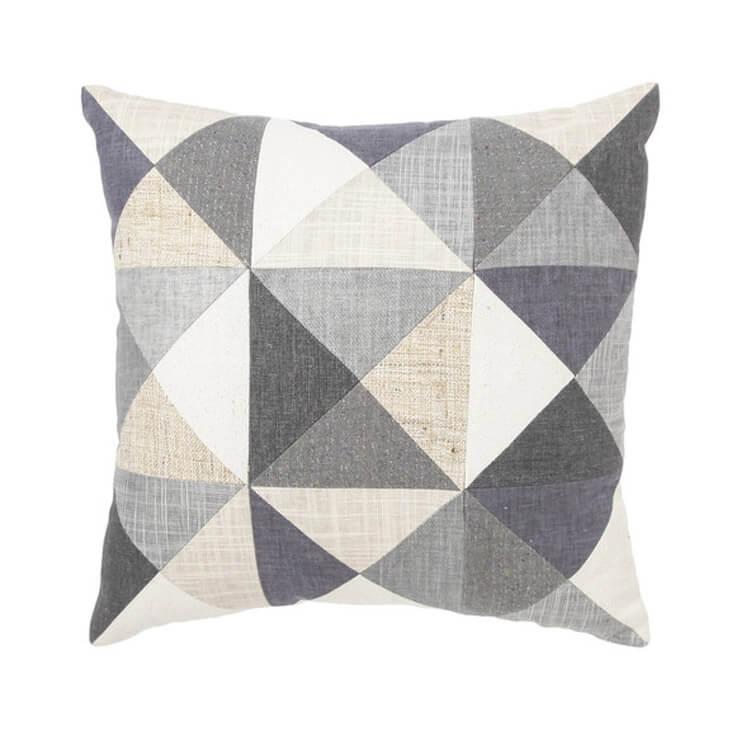 Small Patched Cushion Megan Park Est Magazine