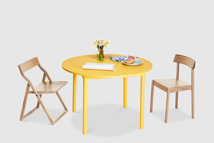 Time Dining Table Round Nomi © Tessa Ross Phelan Est Magazine