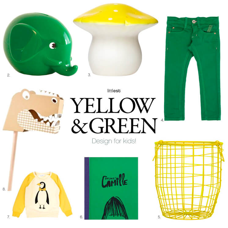 2. 8. Littest Yellow and green for kids Est Magazine