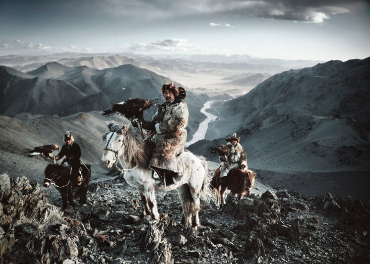 Before They Pass Away © Jimmy Nelson Kazakhs Mongolia published by teNeues Est Magazine