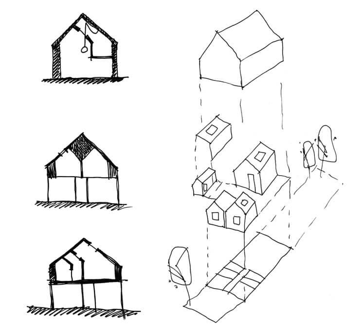 House Maher Internal Externam Diagrams © Tribe Studio Est Magazine