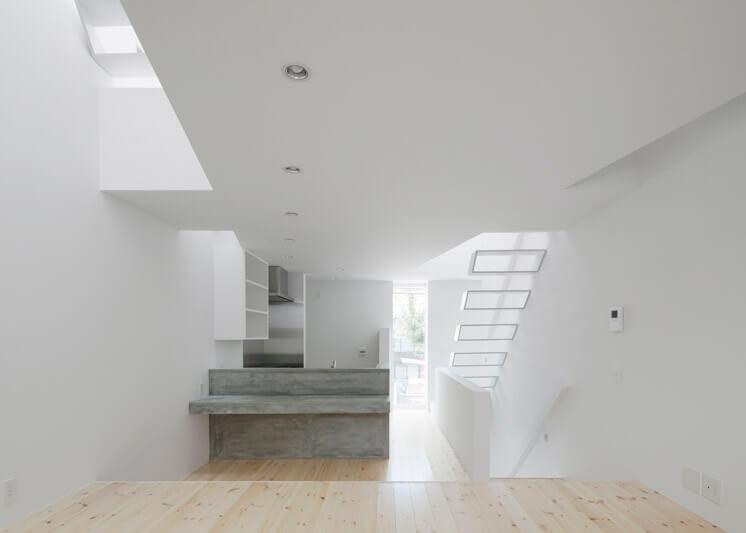 House in Tamatsu Kenji Architectural Studio © Yohei Sasakura09 Est Magazine