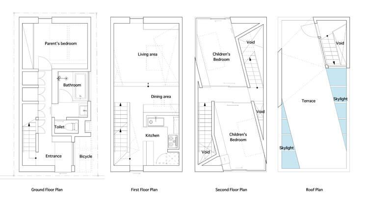 House in Tamatsu Kenji Architectural Studio © Yohei Sasakura13 Est Magazine