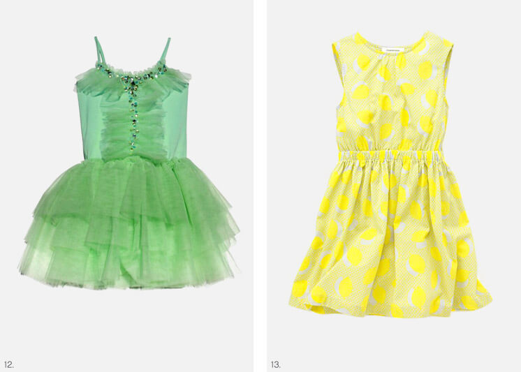 Littlest | Yellow & Green Design for Kids