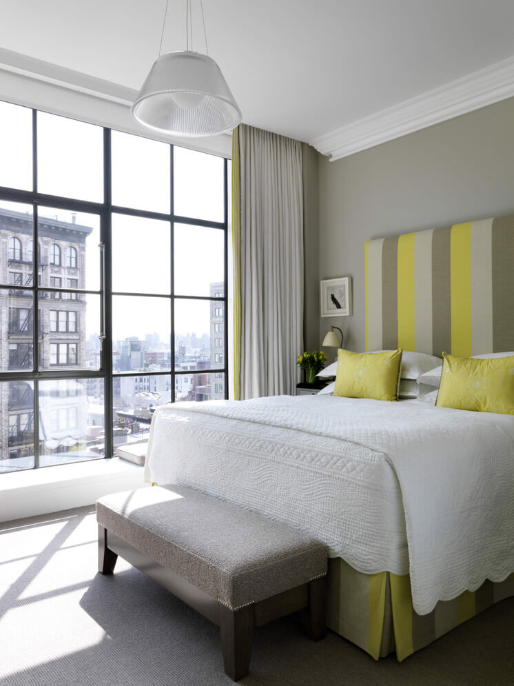 Mr Mrs Smith Crosby Street Hote New York USA Bedroom