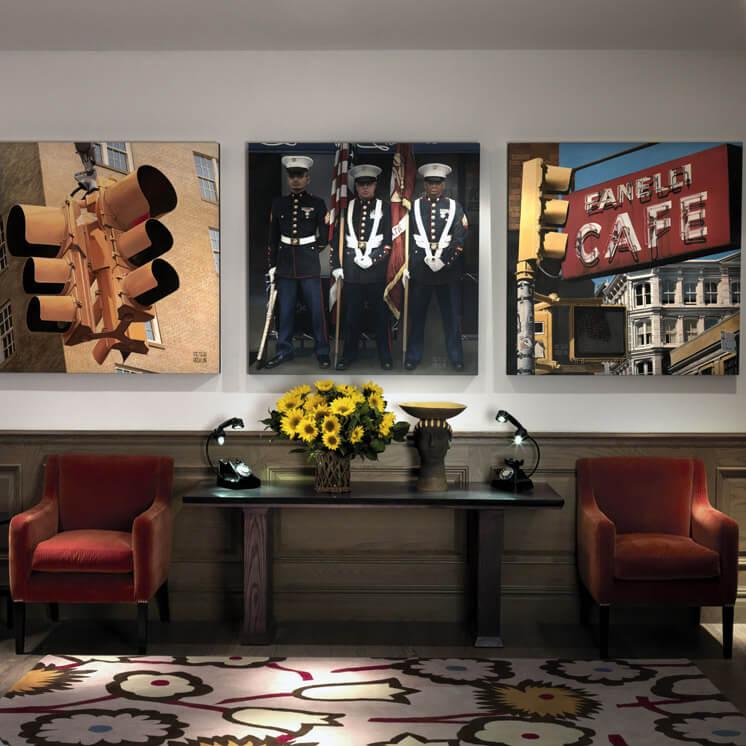 Mr Mrs Smith Crosby Street Hote New York USA Lounge