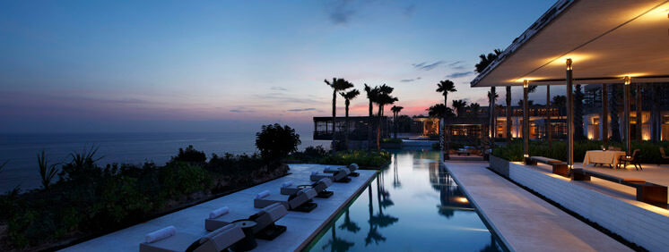 Mr and Mrs Smith Alila Villas Uluwatu Bali Indonesia Night