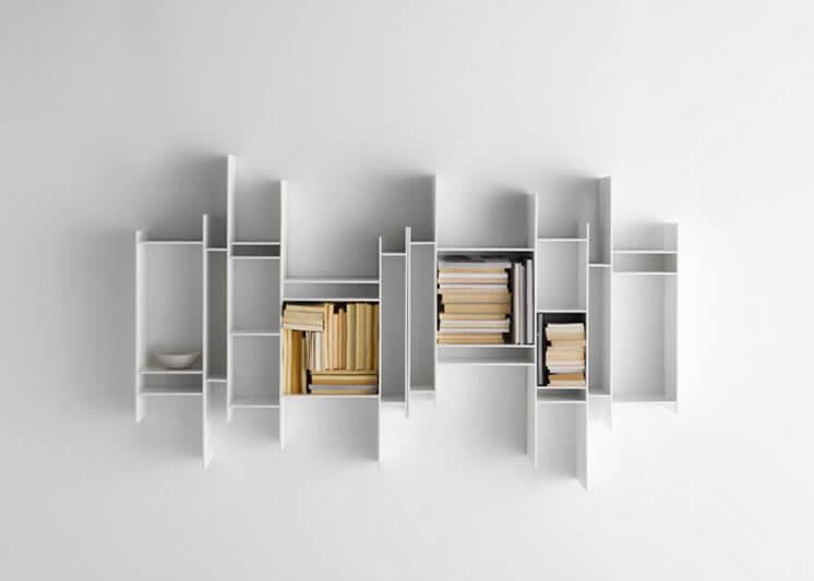 Randomito Shelves from MDF Italia designed by Neuland Industriedesign Est Magazine