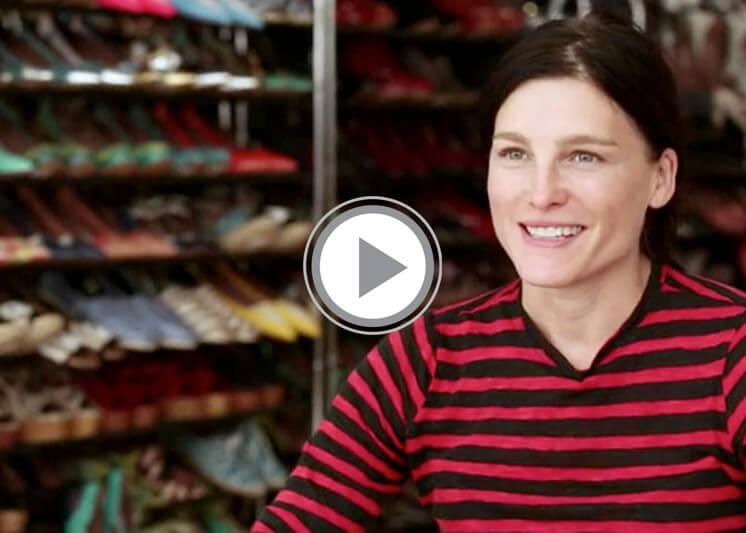 TOMS Shoes + x Tabitha Simmons Video Est Magazine