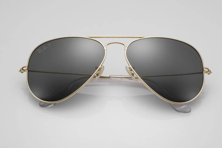 Ray Ban Limited Edition Solid Gold Aviator Est Magazine1